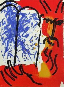 Bible: Moise by Marc Chagall
