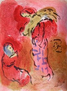 Bible: Ruth Glaneuse by Marc Chagall