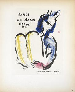 Bible Verve by Marc Chagall
