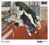 Jerusalem Windows : Levi (Sketch)-Marc Chagall-Framed Collectable Print