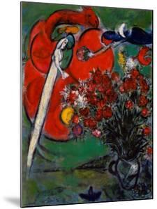 Blumenstilleben St.Jean Cap Ferrat, 1956 by Marc Chagall