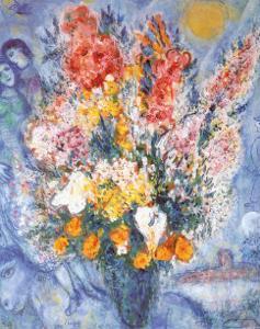 Bouquet des Fleurs by Marc Chagall