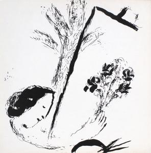 Bouquet with Hand by Marc Chagall