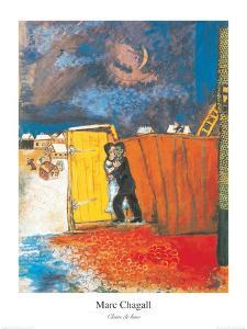 Claire de Lune by Marc Chagall