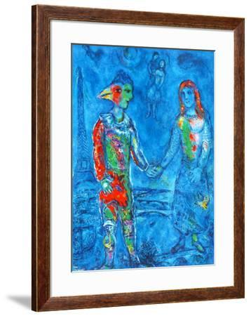 Couple in Blue