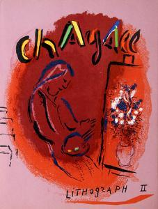 Cover from Lithographe II by Marc Chagall
