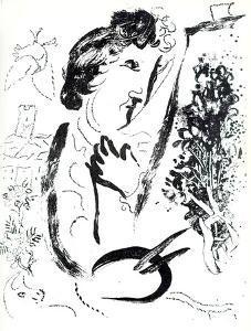 Devant le Tableaur by Marc Chagall