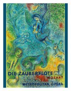 Die Zauberflöte (The Magic Flute)- Mozart- Metropolitan Opera by Marc Chagall