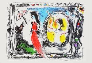 Dlm - Derrière Le Miroir by Marc Chagall