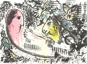 DLM No. 182 pages 4,5 by Marc Chagall