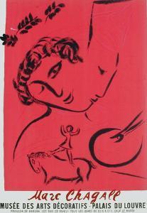 Expo 59 - Musée des Arts Décoratifs by Marc Chagall