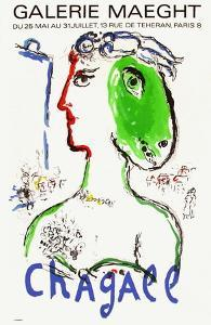 Expo 72 - Galerie Maeght by Marc Chagall