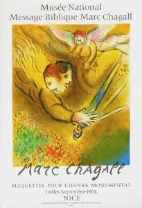 Expo 74 - Musée National Message BibIIque by Marc Chagall