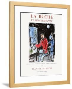 Expo 79 - La Ruche et Montparnasse 2 by Marc Chagall