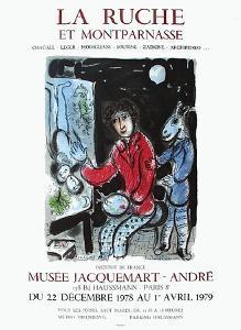 Expo la Ruche et Montparnasse by Marc Chagall
