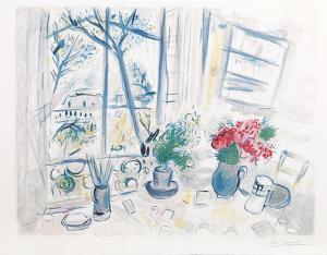 Fleurs du Parc by Marc Chagall