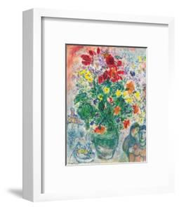 Grand Bouquet de Renoncules, 1968 by Marc Chagall