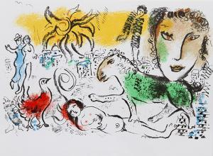 Homecoming by Marc Chagall