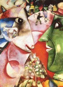 I and the Village, c.1911 by Marc Chagall