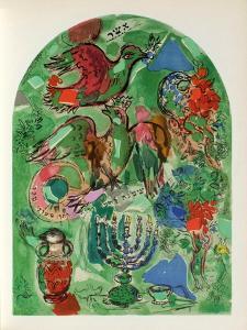 Jerusalem Windows : Asher by Marc Chagall