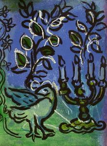 Jerusalem Windows : ChandeIIer by Marc Chagall