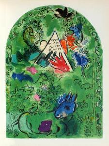 Jerusalem Windows : Issachar by Marc Chagall