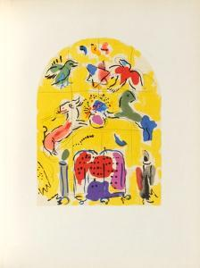 Jerusalem Windows : Levi (Sketch) by Marc Chagall