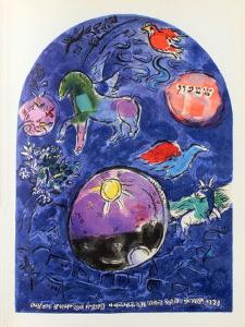 Jerusalem Windows : Simeon by Marc Chagall