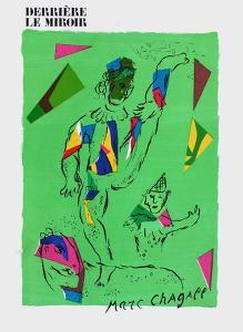 L'Acrobate Vert by Marc Chagall