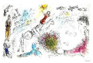 L'ame du Circue by Marc Chagall