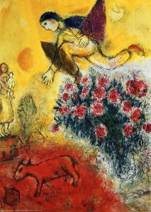 marc chagall artwork for sale posters and prints at. Black Bedroom Furniture Sets. Home Design Ideas