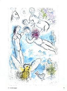 L'envolee Magique by Marc Chagall