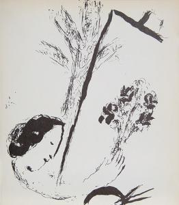 La Bouquet a la Main by Marc Chagall