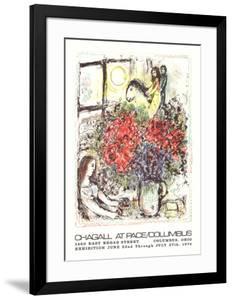 La Chevauchee by Marc Chagall