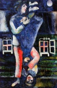 La Promenade by Marc Chagall