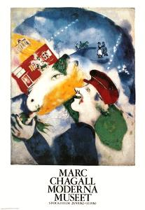 La Vie Paysanne by Marc Chagall