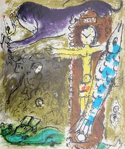 Le Christ l'Horloge by Marc Chagall