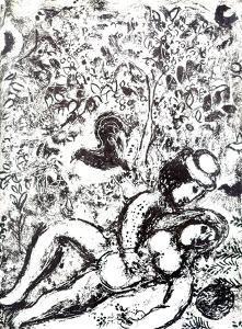 Le Couple a L'Arbre by Marc Chagall
