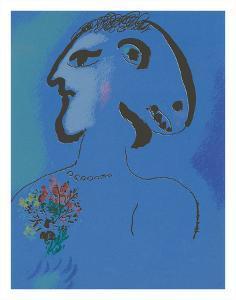 Le Village Bleu (Variation) by Marc Chagall