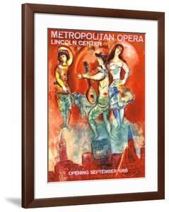 Metropolitan Opera Opening, September 1966 by Marc Chagall