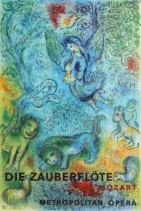 Metropolitan Opera, The Magic Flute by Marc Chagall