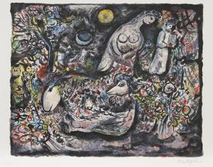 Moses by Marc Chagall