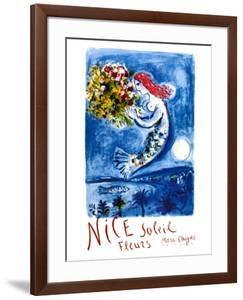 Nice Sun Flowers by Marc Chagall