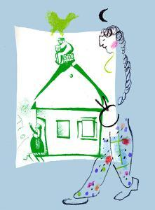 Our House in my Village by Marc Chagall