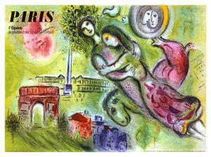Paris, l'Opera, 1965 by Marc Chagall