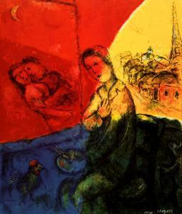 Peintre by Marc Chagall