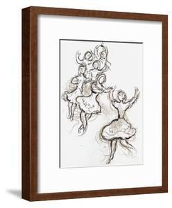 Plafond de l'Opéra: le Lac des Cygnes by Marc Chagall