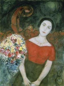 Portrait of Vava by Marc Chagall