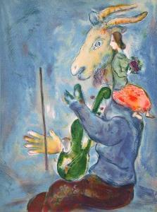 Printemps by Marc Chagall