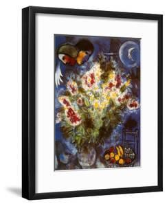 Still Life with Flowers by Marc Chagall
